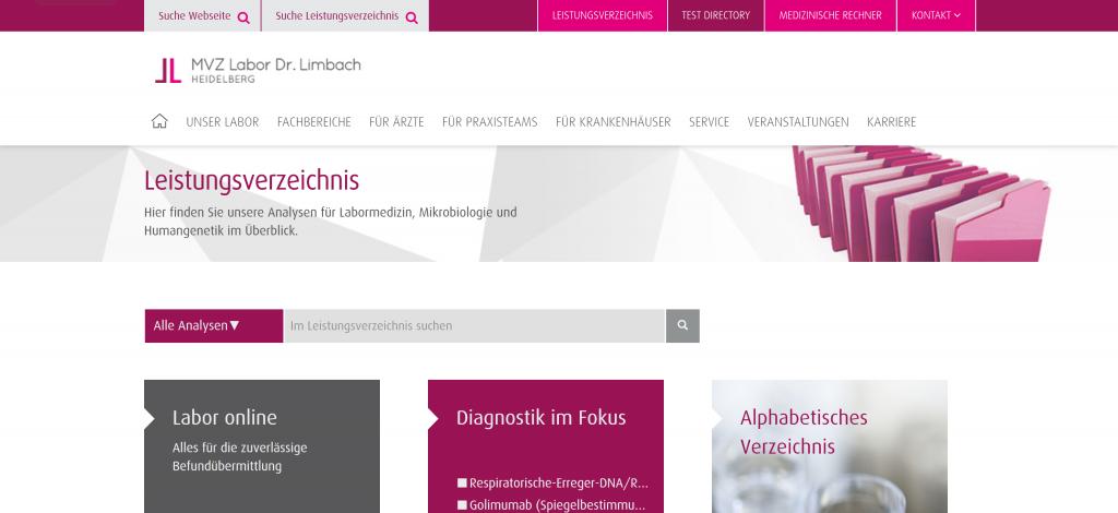 MVZ Labor Dr. Limbach Heidelberg